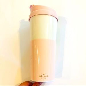 Kate Spade Coffee Travel Cup 16oz Tumbler